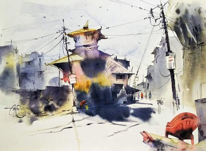 City landscape with Vikrant Shitole