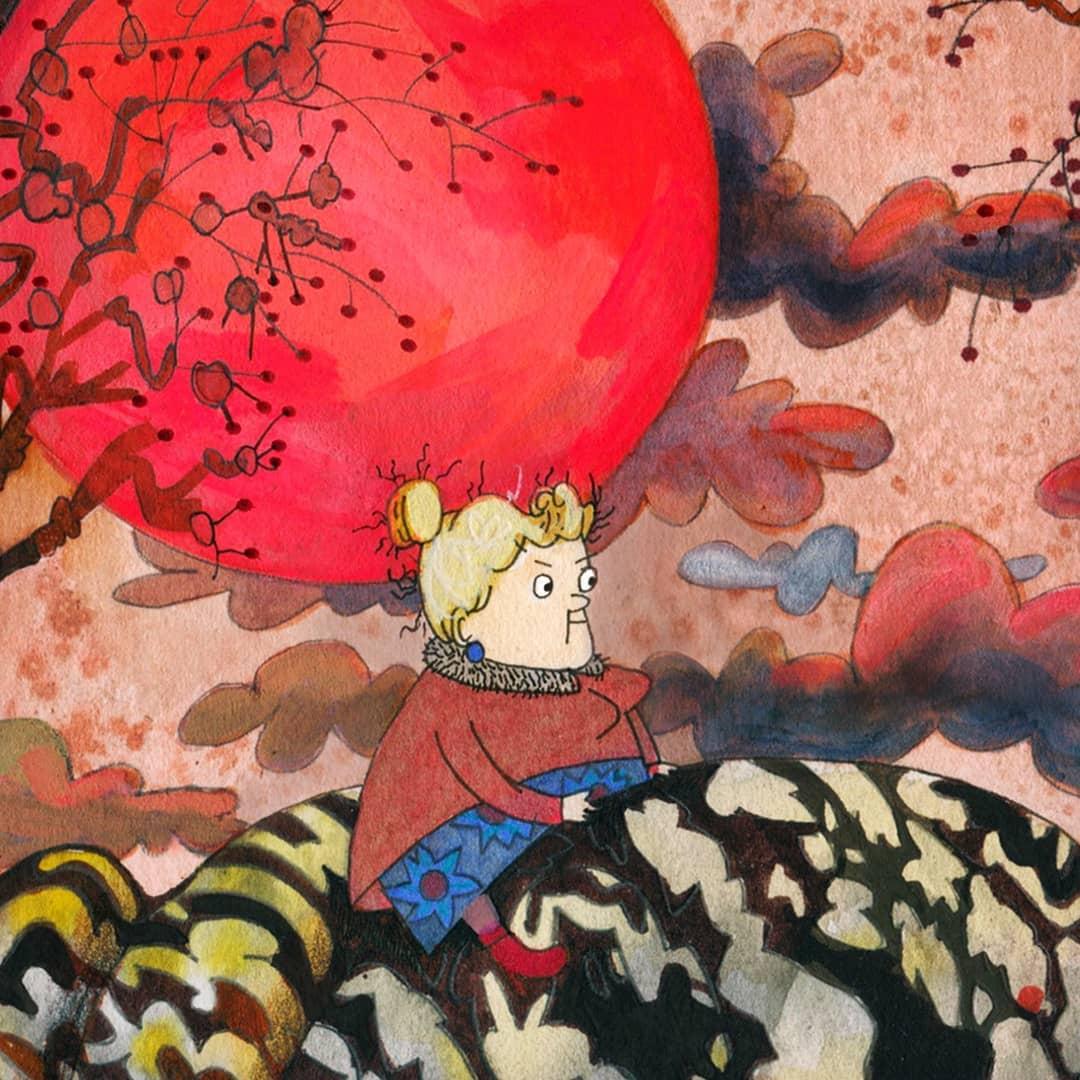 Book illustration with Martha Zhuravskaya